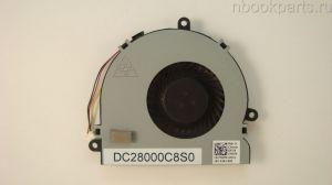 Вентилятор (кулер) Dell Inspiron 3521 5521, HP 15-G 15-R 15-H (3 pin)