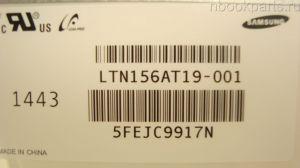 "Матрица 15.6"" LTN156AT19 (уши вверх/вниз)"