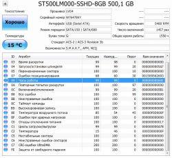 Б.у. жесткий диск Seagate 500GB
