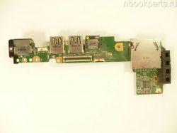 Плата питания/ включения/ USB/ LAN/ Cardreader Asus Eee PC 1011