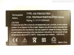 Аккумуляторная батарея для Asus F50 F80 X61 X80