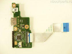 USB плата с шлейфом  Lenovo IdeaPad S206