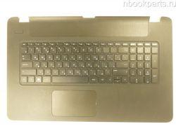 Палмрест с тачпадом и клавиатурой HP 17-P