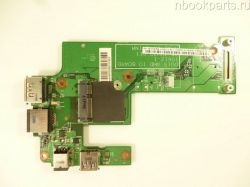 Плата питания/ USB/ LAN Dell Inspiron M5010/ N5010