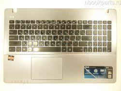 Палмрест с клавиатурой и тачпадом Asus X550D