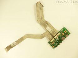 Audio/ USB плата с шлейфами Asus N71J
