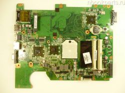 Неисправная материнская плата HP Compaq Presario CQ61 (дефект)