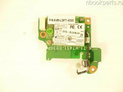Плата LAN с модемом RoverBook Pro P435