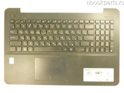 Палмрест с тачпадом и клавиатурой Asus X554L/ X555L