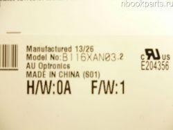 """Матрица 11.6""""  B116XAN03.2 (Б/У)"""