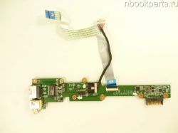 Плата питания/ включения/ USB/ заряда аккумулятора Acer Aspire V5-551