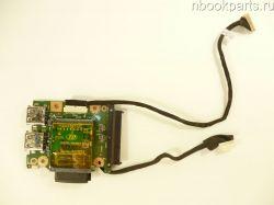 USB/ CardReader плата Packard Bell EasyNote LL1 (BUTTERFLY M)