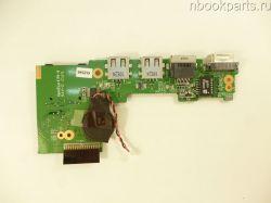 USB/ VGA/ LAN/ Cardreader плата DNS M1100/ M1100Q (0121906)