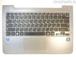 Палмрест с клавиатурой и тачпадом Samsung NP530U3B/ NP530U3C