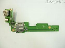 USB плата Dell Inspiron 1525 (PP29L)