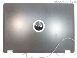 Крышка матрицы MSI VR330 (дефект)