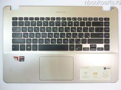 Палмрест (топкейс) с тачпадом и клавиатурой Asus X505B/ X505BP/ X505Z