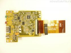 Audio/ USB плата с шлейфом Lenovo IdeaPad Y510 (15303)