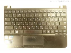 Палмрест с клавиатурой и тачпадом Samsung NC110 (дефект)