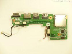 USB/ VGA/ LAN/ Cardreader плата ViewSonic VNB109