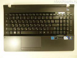 Палмрест с клавиатурой и тачпадом Samsung NP300E5A/ NP300E5X
