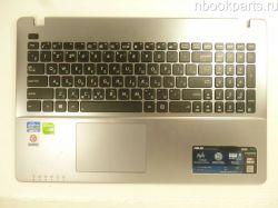 Палмрест с клавиатурой и тачпадом Asus X550C