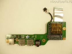 Плата USB/ Audio/ питания Acer Aspire One 725
