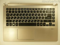 Палмрест с тачпадом и клавиатурой Acer Aspire V5-472PG
